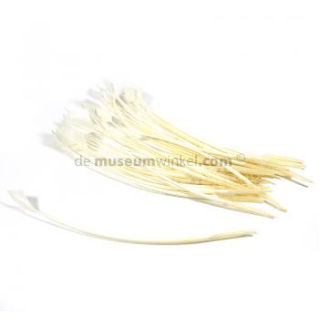 Arrow-head feather white 30 cm (x 5 )